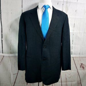 Hugo Boss Galilei 42L Blue Suit Blazer Sport Coat